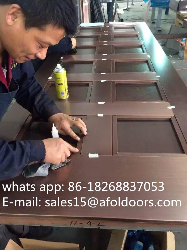 Our copper door factory